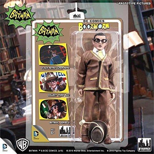 Batman 1966 CLASSIC TV SERIES 4 ACTION FIGURE : Bookworm by batman