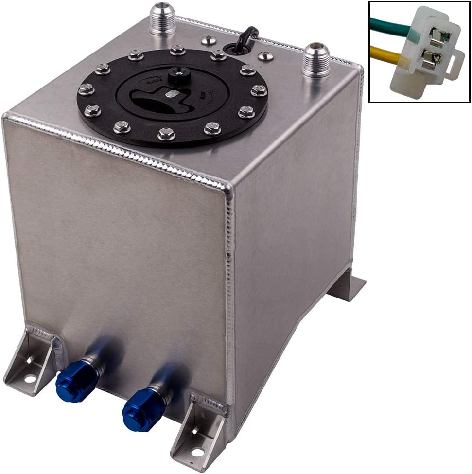 maXpeedingrods Aluminum 10L Fuel Cell Tank for All Universal Vehicle