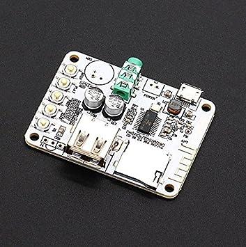ELEC Frikis Portable Wireless Bluetooth Receptor de Audio Tarjeta ...