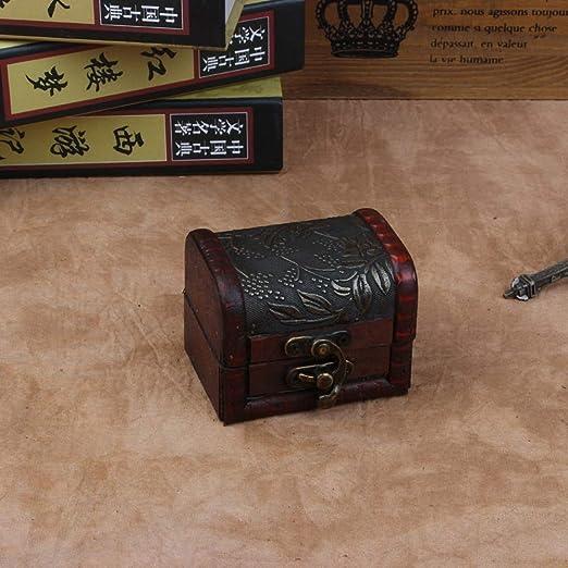 Amazon.com: Culturemart Vintage Wood Handmade Lock Box Storage Organizer Jewelry Bracelet Pearl Case Gift Storage Box: Kitchen & Dining