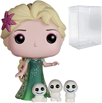Funko Pop! Figura de vinilo de Elsa #155 de Frozen Fever de Disney ...