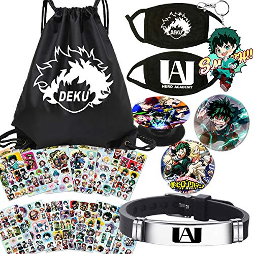 M-H-A Bag Gift Set Bag+Bracelet+Keychain+Button+Phone Holder+Stickers