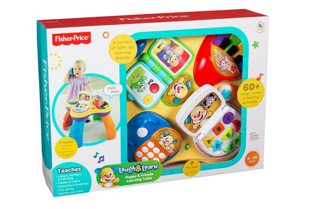 Fisher price laugh learn puppy and friends learning table toys games - Table activite fisher price ...