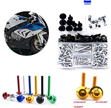 Fasteners Complete Motorcycle Fairing Bolt Kit For Yamaha YZF-R1 2004-2006 Body Screws and Hardware