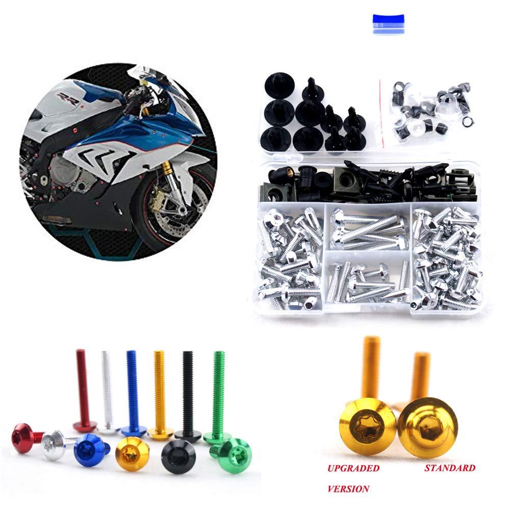 Complete Fairing Bolt Kit Body Screws for Suzuki GSX1300R Hayabusa 2008-2016