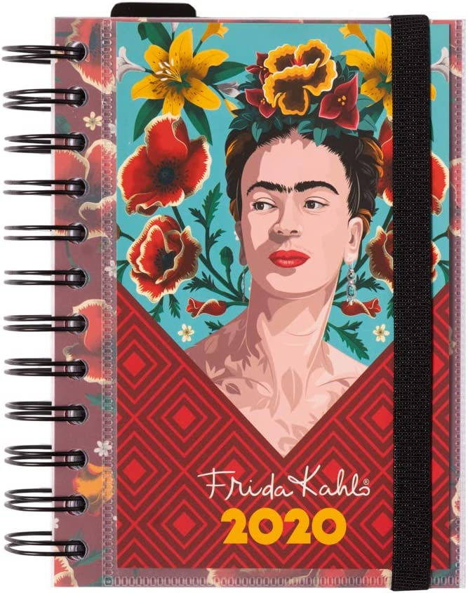 ERIK - Agenda anual 2020 Frida Kahlo, día página (11,4x16 cm)