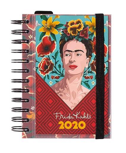 Erik Agenda Annuale 2020 Giornaliera Multiuso Scuola Casa Lavoro 11 4x16 Cm Frida Kahlo