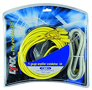 Planet Audio PAK4 Multicolor cable de audio - cables de audio (Multicolor)