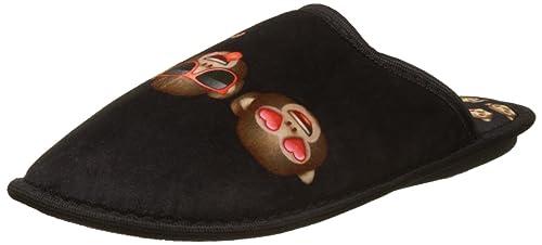 Emoji Damen Emo Albinaro Pantoffeln, Noir (Noir), 37 EU