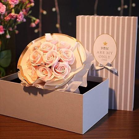 Rosas Hechas A Mano Flores Secas Belleza Floral Perfumado ...