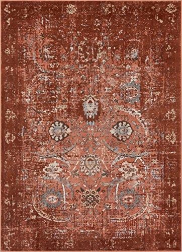 Well Woven Elle Copper Persian Vintage Shiraz 5x7 (5'3