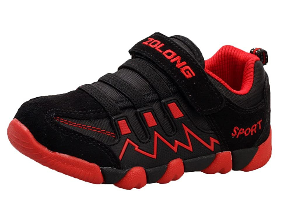 iDuoDuo Kids Casual Mesh Shoes Outdoor Athletic Trail Running Sports Sneakers (Toddler/Little Kid/Big Kid)