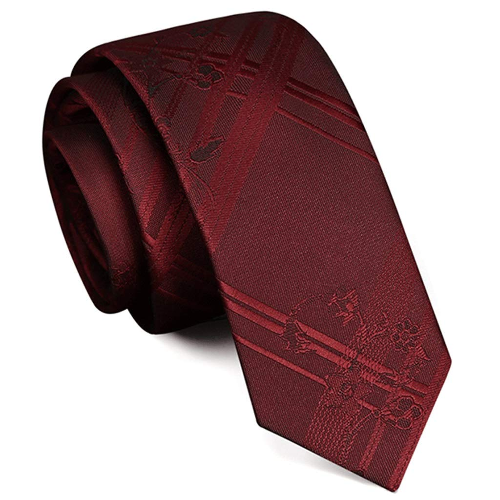 Wedding Suit Business Color : #7 Mens Gift red TIE Mens