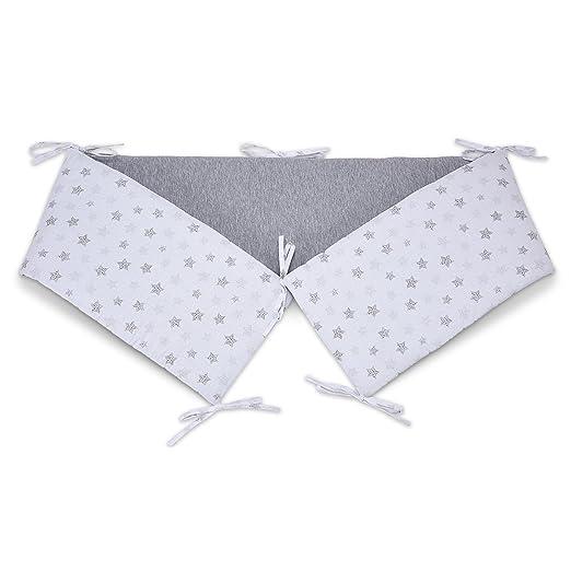 fabimax 3641 Cuna para cama auxiliar Basic, 90 x 50 cm, estrellas pequeño, color blanco: Amazon.es: Bebé