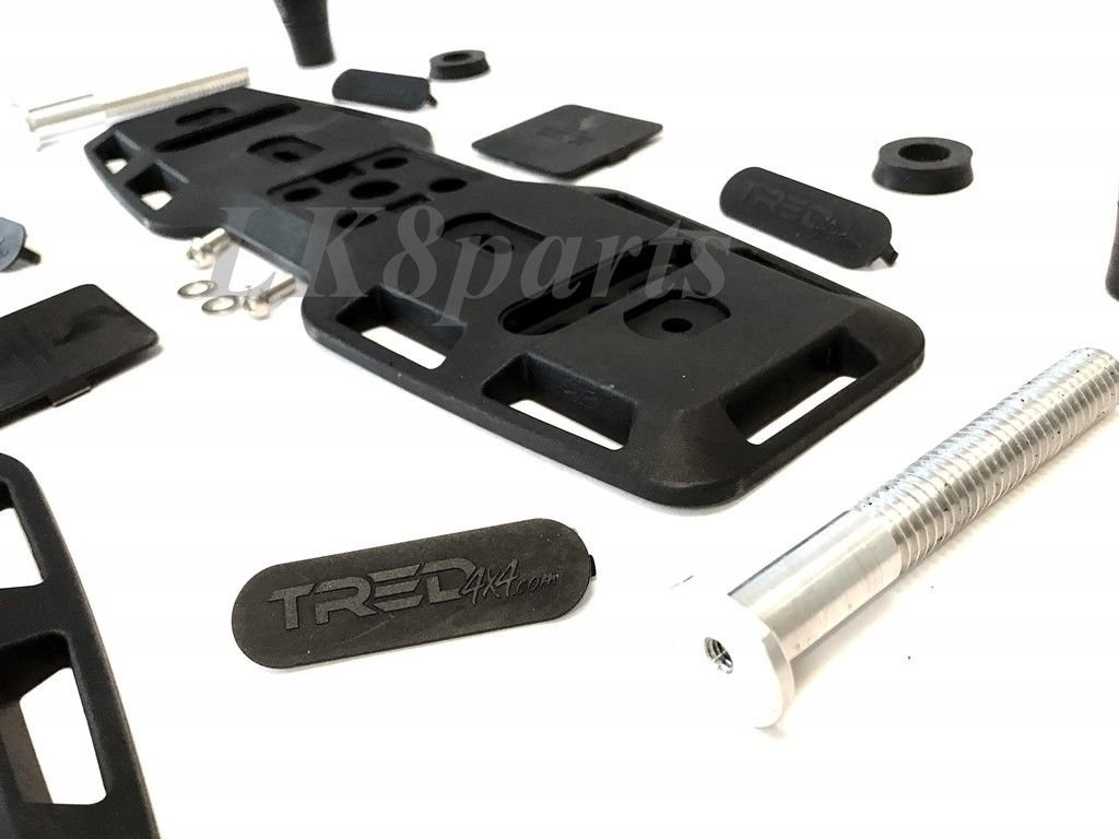 4X4 Off-Road Vehicle Recovery Proper Spec TRED PRO Mounting Bracket Pair TRED PRO