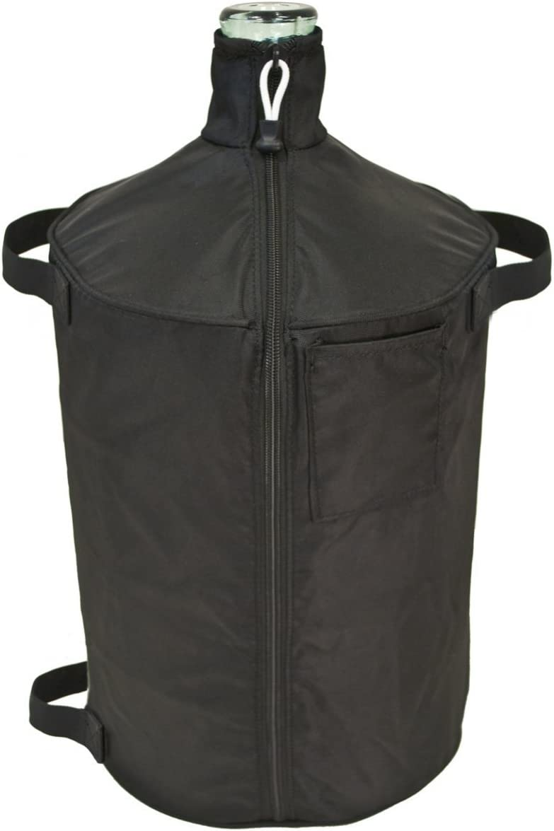 The All-in-One Carboy Cover (6.5 Gallon Textured Glass)