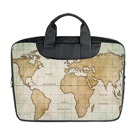 Amazon lifei business art print world map customized waterproof lifei business art print world map customized waterproof laptop bag custom bag advanced design suitable for gumiabroncs Choice Image