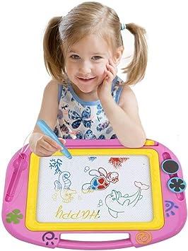 Mystery Ardoise Magique, 32×23cm Table Magique pour Enfants Grand Doodle  Pad Planche à Dessin Coloré Jouet Éducatif pour Enfants