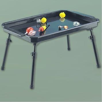 Bivvy Table Metall XL Deluxe Zubehör Zelt Tisch