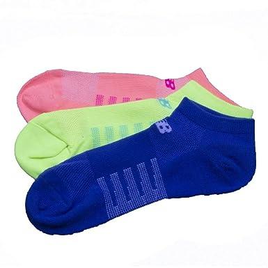 New Balance Lifestyle No Show (3P) Socken Unisex Blau 37 41