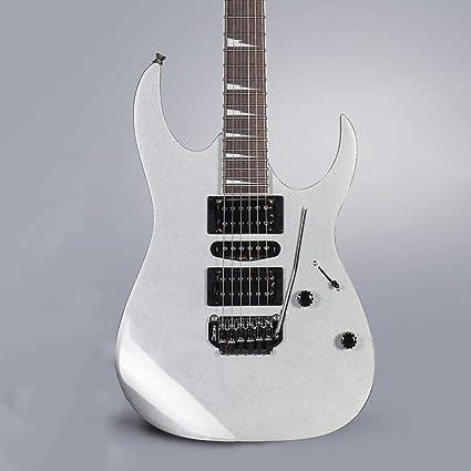 Miiliedy Juego de guitarra eléctrica clásica GRG170DX Práctica ...