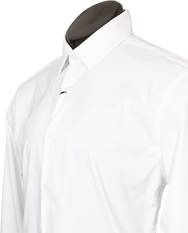 Zara - Camisa Casual - para Hombre Blanco S: Amazon.es: Ropa y ...