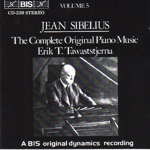 Original Piano Complete Music (V 5: Complete Original Piano Music by J. Sibelius (1994-03-25))
