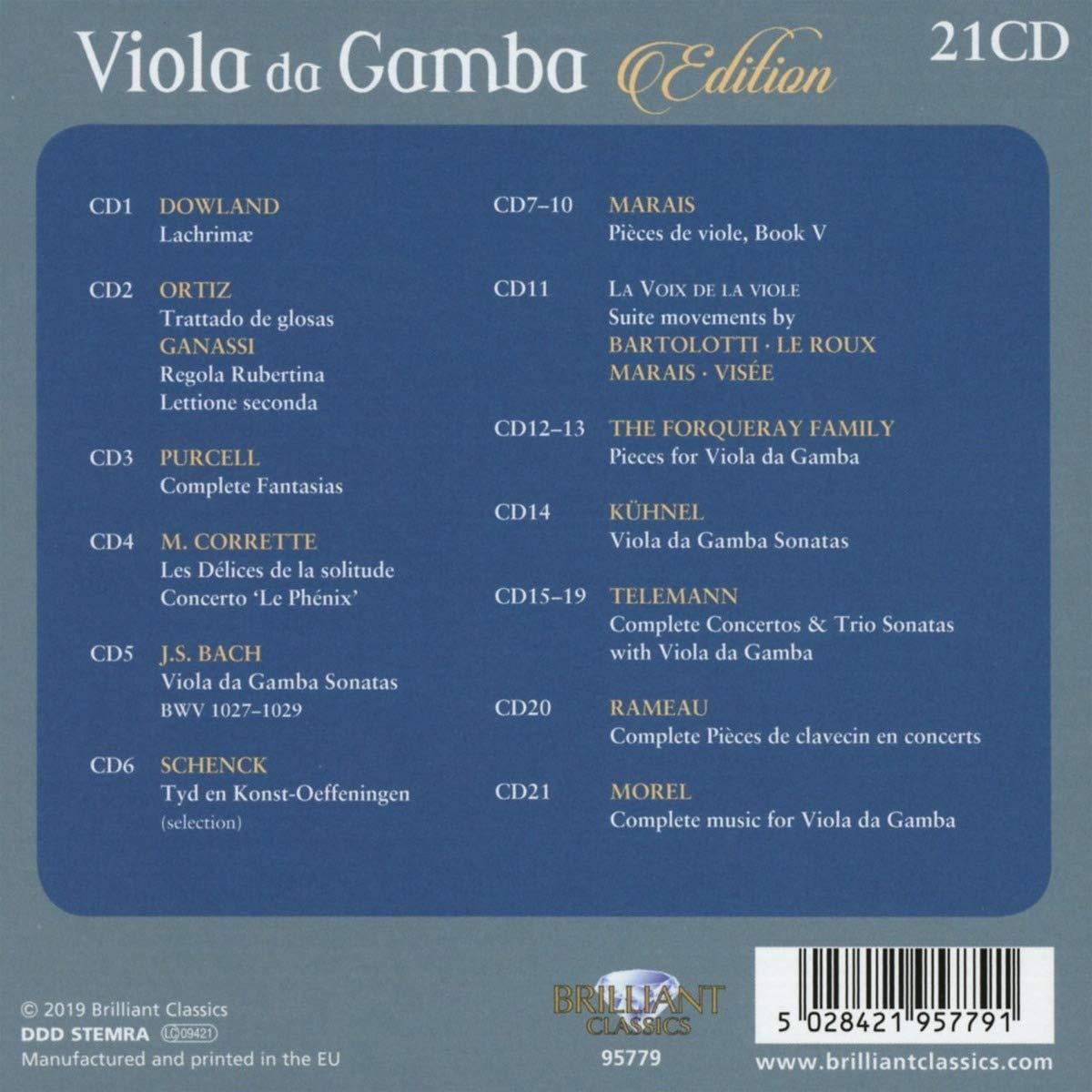 VARIOUS ARTISTS - Viola Da Gamba Edition - Amazon.com Music