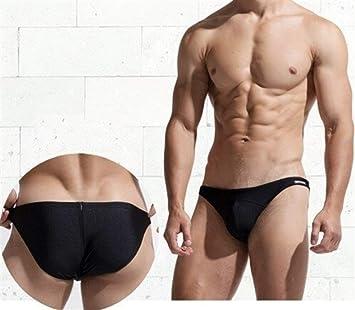 MJTCJY Traje de baño Hombres Swim Briefs Sexy Gay Hombre Bikini ...