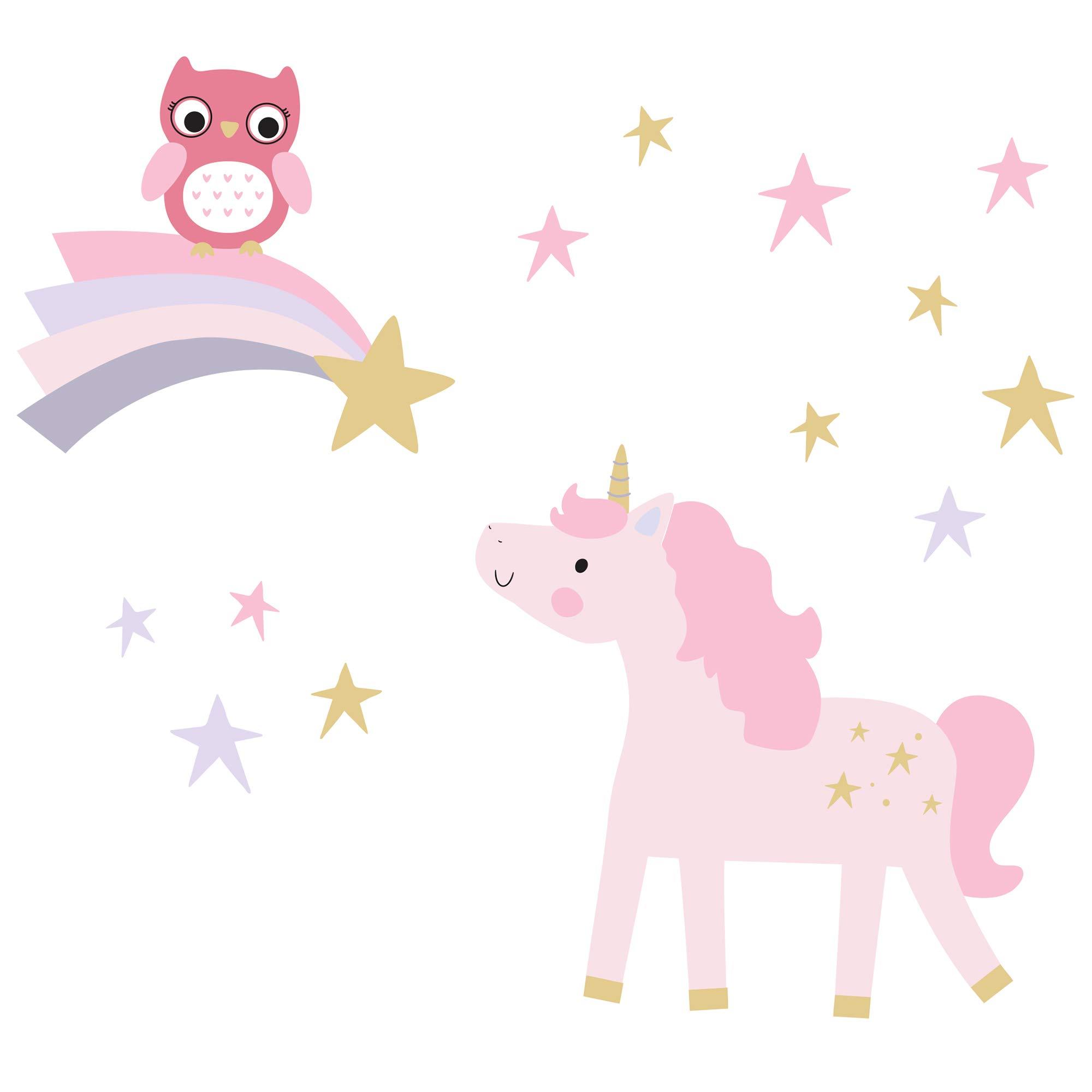 Vinilo Decorativo Pared [7HNWYQHV] unicornio