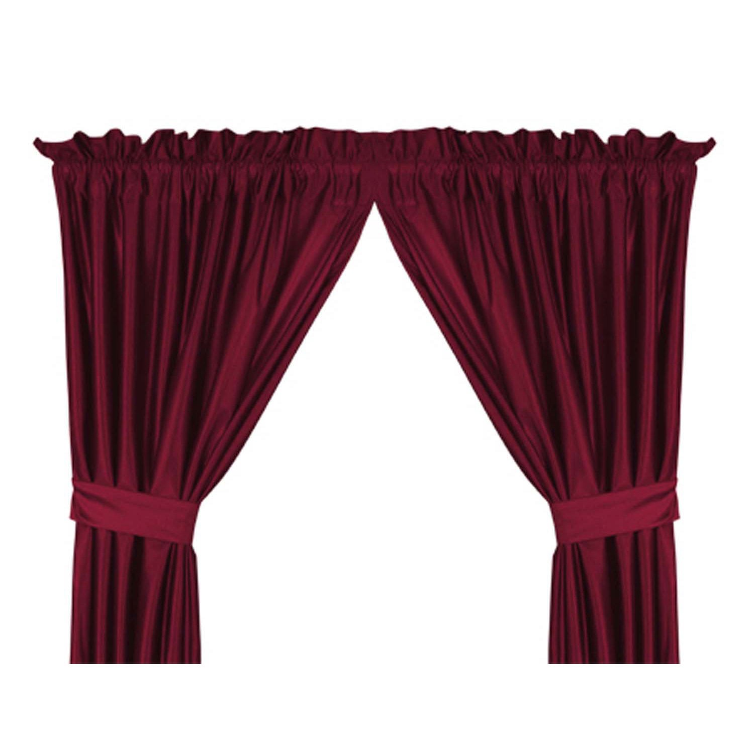 Virginia Tech Hokies Drapery Set Burgundy63''L