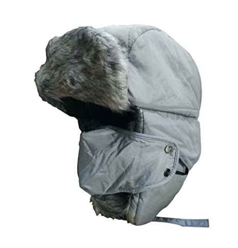 f93dd924d6f Amazon.com   PANDA SUPERSTORE Men   Women Nylon Winter Hat Earmuffs ...