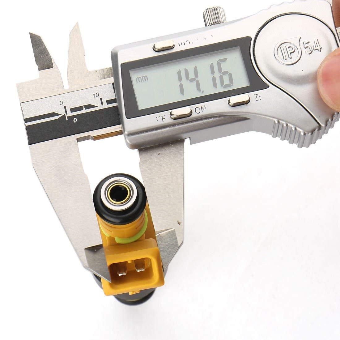 Flow Matched Fuel Injectors Set Of 8 For Ford F150 F250 Filter 2007 Truck F350 E150 E250 E350 E450 Mustang Excursion 46l 50l 54l 58l V8 0280150943 Automotive
