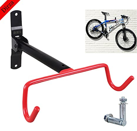 Dirza Wall Mount Bike Hanger Flip Up Garage Bicycle Bike Rack Storage System for Garage Shed  sc 1 st  Amazon.com & Amazon.com : Dirza Wall Mount Bike Hanger Flip Up Garage Bicycle ...