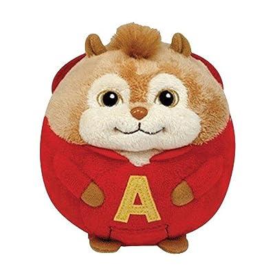 Ty Beanie Ballz Alvin - Chipmunk: Toys & Games