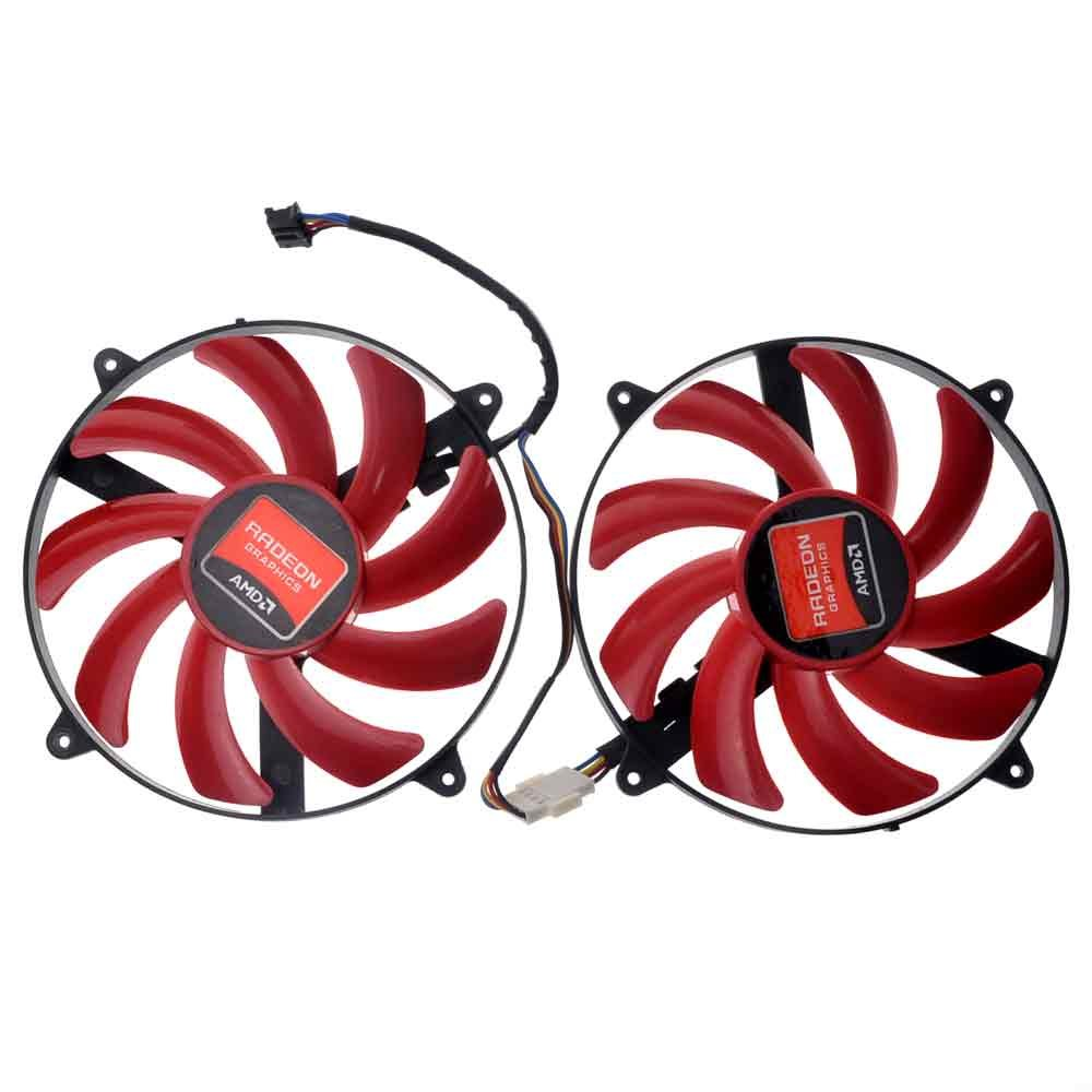 FD7010H12S 87mm DC 12V 0.35A 70mm 4Pin Graphics Video Card Cooling Fan For HD 7990