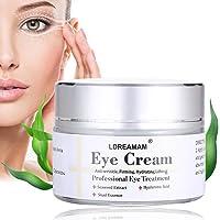 Crème pour les yeux,Crème Yeux,Crème Pour les Yeux pour les Cernes,Eye Cream,élimine les rides,cernes,cercles noirs, poches et pattes d'oie