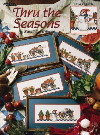 Cross Stitch Pattern Thru the Seasons