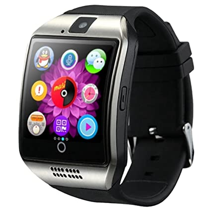 Smart Watch Bluetooth - TOOGOO(R) Newest Q18 Smart Watch Bluetooth Smartwatch Phone with Camera TF/SIM Card Slot for Android Samsung Galaxy ...