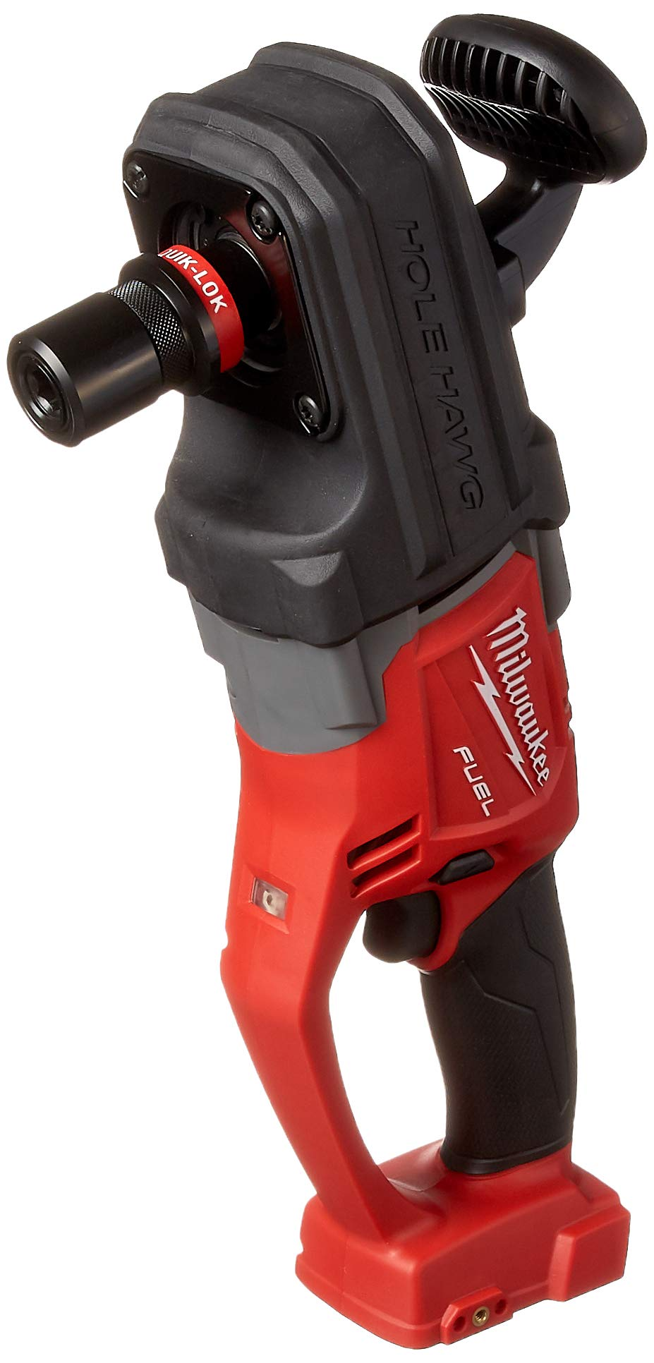 Milwaukee 2708-20 M18 Fuel Hole Hawg Right Angle Drill with Quik-Lok Bare by Milwaukee