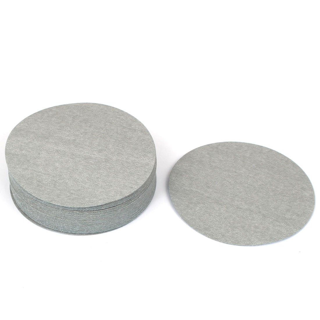 uxcell® Artificial Stone Grinding 800 Grit Hook and Loop Sanding Disc Flocking Sandpaper 10PCS