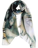 Internet Châle Foulard en Mousseline de soie Foulards Longue écharpe Belle Accessoire