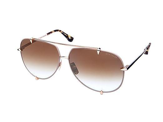 08be5279d940 Sunglasses Dita TALON 23007 C-TAN-GLD Satin Tan12K Gold w Brown to  Clear-Gold Fl  Amazon.co.uk  Clothing