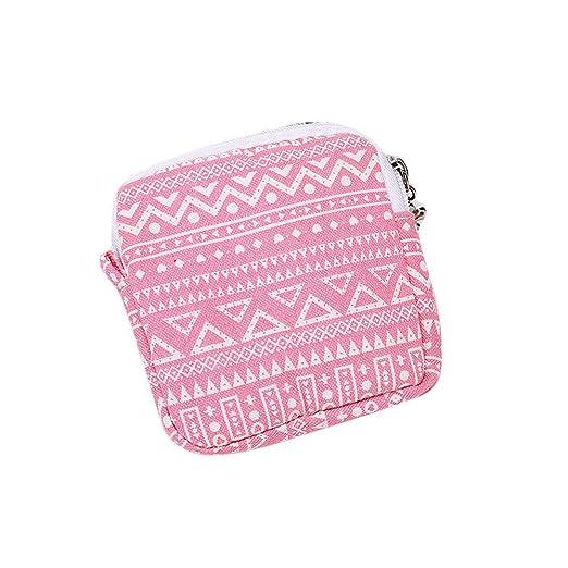 9476390422bc ❤️Sunbona Card Holder Wallet for Women Girl Cute Sanitary Pad Organizer  Holder Napkin Towel...