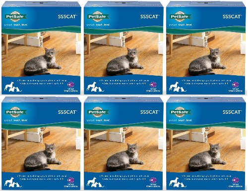 NEW! PetSafe SssCat Spray Deterrent System 6ct by ValuePetSupplies