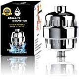 AQUA LIFE INNOVATION 10-Stage Shower Filter - Easy Installation Water Filter - Body Purification & Revitalization - Multi Stage Filtration - For Any Shower Head - Replaceable Filters - Launch Offer
