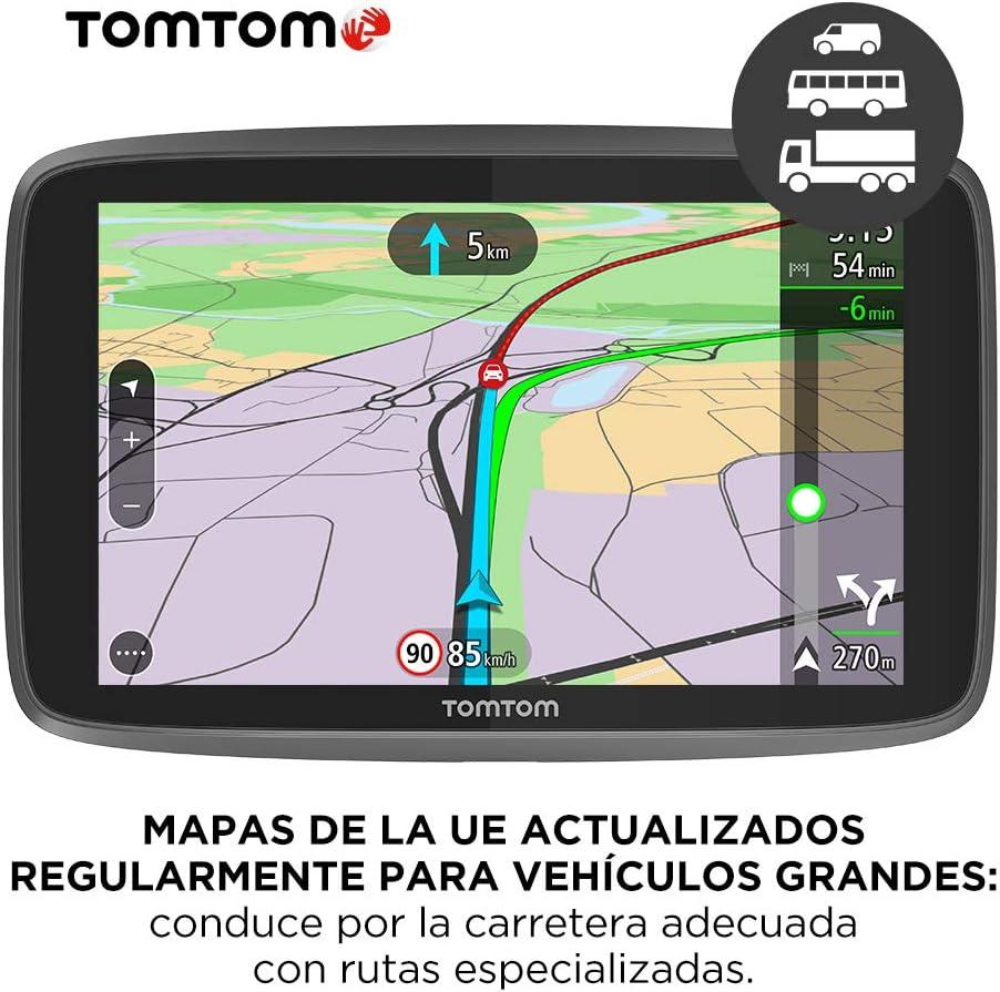 TomTom GO Professional 620, Navegación Profesional para Vehículos Grandes, Tomtom Traffic para toda la vida a traves de Smartphone, 6 pulgadas, Negro: Tomtom: Amazon.es: Electrónica