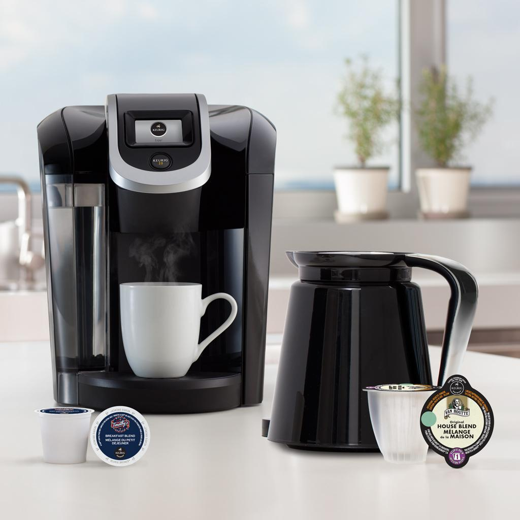 NEW 2016 Keurig K300 4 Cups Coffee And Espresso Maker starbucks Black automatic