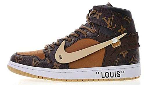 Off Off Off Weiß X Louis V X Air Jordan 1 Pinnacle Aj10552 020 Zapatillas 4b2c9a