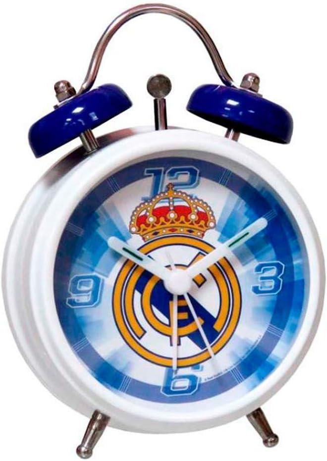 Real Madrid RD-121-RM Despertador Campanas: Amazon.es: Juguetes y juegos